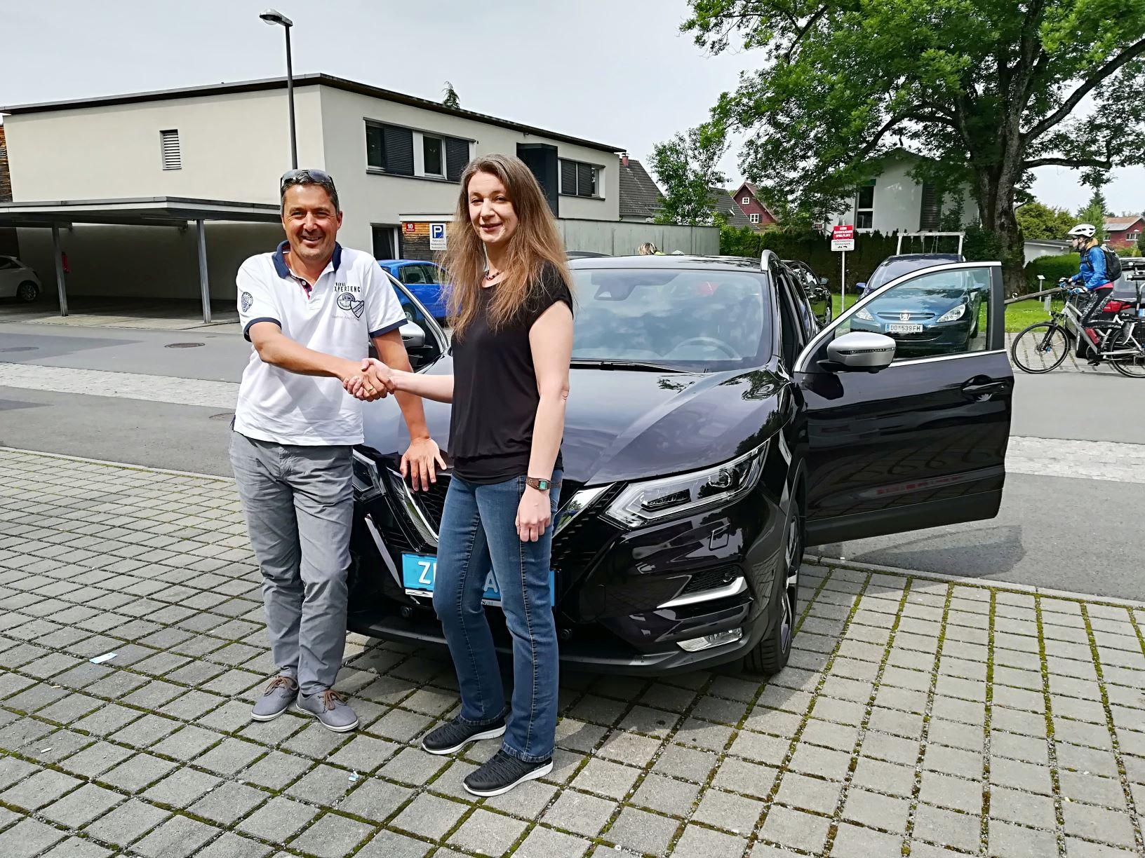 Nissan Qashqai auch im Vorarlberger Ländle